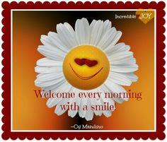 Cute good morning quotes Facebook. Com / Incredible Joy