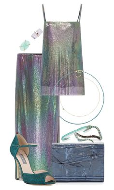 """My Fantasy Wardrobe"" by neuroticfashionplate ❤ liked on Polyvore featuring Rosie Assoulin, Kevin Jewelers, AS29, Wendy Yue, Jimmy Choo, Uzerai Edits, SJP and Jack Vartanian"