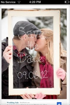 Save the date- wedding ideas