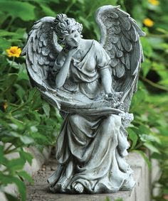 Look what I found on #zulily! Angel In Thought Figurine by Roman #zulilyfinds