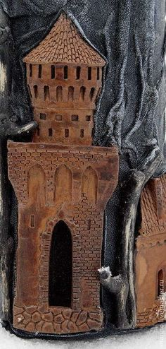 Подарки для мужчин, ручной работы. Ярмарка Мастеров - ручная работа Замок в горах. Handmade.