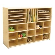 Sprogs 15-Tray Multi-Use Wooden Storage Unit https://www.schooloutfitters.com/catalog/product_family_info/cPath/CAT5_CAT48/pfam_id/PFAM28987
