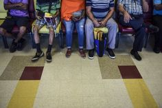 Wanda Serrano arrived at Puerto Rico's largest public hospital before dawn to take her 17-year-old son to an appointment. Six hours later, they were still in the packed waiting room hoping to see a doctor.