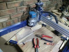 Replacing the 400 watt DC spindle with Makita RT 0700C 710 watt router. Hope this will increase my material removing rates.