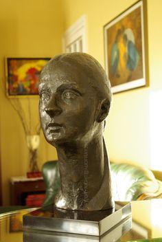 AUDFRAY Etienne, sculpture en bronze - STEPHANIE III - I/IV - 1994