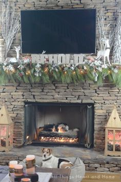 Christmas Mantle fea