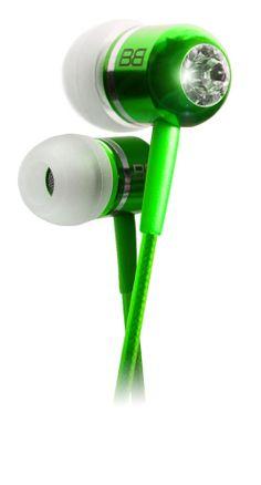 Bassbuds GREEN Fashion earphones