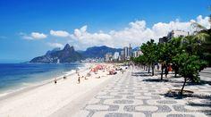 Ipanema Beach, Rio de Janeiro 9reasons to visit Rio de Janeiro http://cristinaraducu.com/2015/04/14/9-reasons-for-loving-rio/#more-145