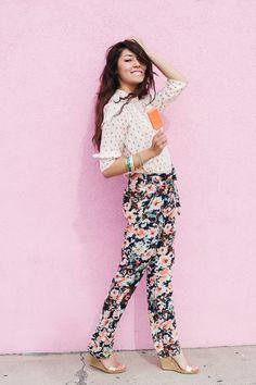 Ashley Thalman Photography- Floral Pant (Sneak Peek for Say Yes to Hoboken)