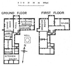 William Morris Red House Plan (Debbie) | william morris red house | P ...