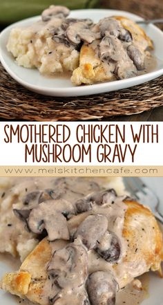 This Smothered Chicken with Mushroom Gravy tastes like it is from an expensive restaurant, but is not hard to prepare.