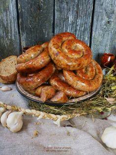 Ukrainian Homemade Sausage