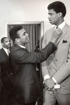 Ali with Abdul Karine Jabbar 1996Muhammad Ali Turns 70: 70 Pictures of the Greatest Boxer - LightBox