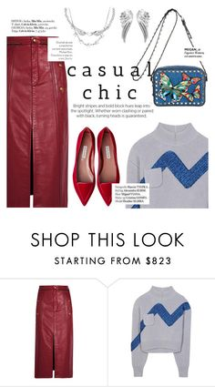 """Casual chic"" by punnky ❤ liked on Polyvore featuring Chloé, Vika Gazinskaya and Haute Hippie"
