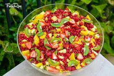 Pomegranate & kiwi bowl