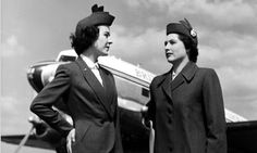 """""""i think we will have to have strong words with Captain Everard - he is not goosing us like he does the younger stewardesses"""" (BEA) British European Airways, Intelligent Women, Strong Words, Flight Attendant, Most Beautiful, Commercial Aircraft, History, Vintage, Style"""