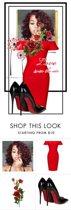 """""""Untitled #4558"""" by mariaisabel701 ❤ liked on Polyvore featuring Posh Girl and Christian Louboutin"""