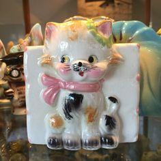 Vintage Beston Kitten Planter by BobsGoodJunk on Etsy