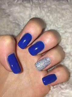 #nails#blue