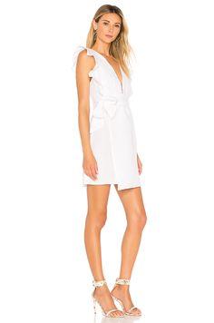 bda6229eaf2 Donna Mizani Maya Mini Dress in White