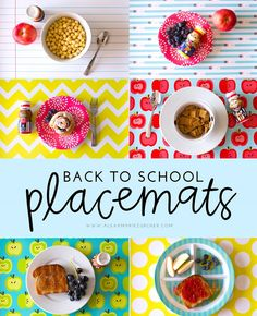 back to school place mats #FuelTheirAdventures ad