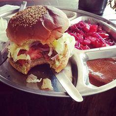 "Vegan Burger ""Depth N green"" restaurant. Do goooood 🍔 #veganfit #cleaneating #vegetarianfood #yoga #loseweightnow #vegetarian #veganfood #veganfoodporn #frutarian  #organic #bio #glutenfreevegan #hathayoga #mandala #starchsolution #nature #looseweight #yogaeverydamnday #ashtangayoga #bikram #om #shanti #yogini #ashtangayoga #yoginis #plantbasediet #yogaeverydamnday #yogalover #yoga #veganfreestyle  Yummery - best recipes. Follow Us! #veganfoodporn"
