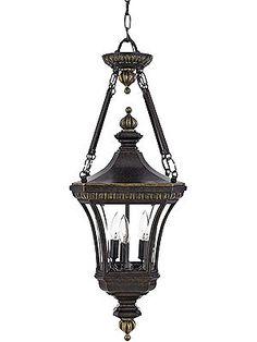 antique outdoor light fixtures devon large hanging lantern in imperial bronze - Antique Light Fixtures