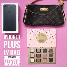 INTERNATIONAL GIFT!  I've partnered with my favourite bloggers to give one lucky follower this amazing iPhone 7 Plus (128g) LV bag and Too Faced Makeup goodies  To participate:  1. Follow me  2. Like this picture  3. Go to @vale_caballero repeat the steps  4. Follow this same steps on every account until you come back to me or the account you started with and leave a comment when you're done. If you want a double chance to win TAG/mention some real friends on the comments below and LIKE our…