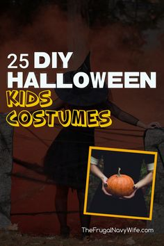 Quit dropping money on Halloween costumes and give one of these DIY Halloween Kids Costumes a try this year. Many are crazy simple! #frugalnavywife #halloween #costumes #diycostumes ##kidscostumes #frugalhalloween | Saving Money On Costumes | DIY Halloween Costumes | Kids Halloween Costumes | Kids Costumes | Halloween | Costumes | Diy Halloween Costumes For Women, Costumes Kids, Halloween Projects, Halloween Kids, Diy Projects, Easy Crafts For Kids, Diy For Teens, Diy For Kids, Fun Crafts