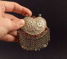 Indian silver old embossed pendant, from Kashmir, India, Kashmiri pendant, ethnic pendant, Kashmiri necklace by ethnicadornment on Etsy https://www.etsy.com/listing/226159503/indian-silver-old-embossed-pendant-from