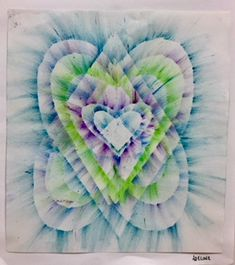 oil pastels, Valentine's Day art, Valentines, hearts, Heart, Art Education, Art Education Blog, fourth grade, Kim and Karen 2 Soul Sisters Art Education Blog