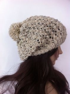 Hey, I found this really awesome Etsy listing at https://www.etsy.com/listing/178950637/oatmeal-color-slouch-beanie-slouchy-hat