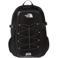 THE NORTH FACE Borealis classic rucksack ($115) ❤ liked on Polyvore featuring bags, backpacks, black, the north face, strap backpack, black bag, strap bag and padded backpack