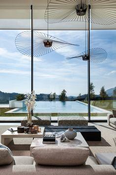 Dream Home Design, Modern House Design, Marbella Villas, Marbella Spain, Architecture Design, Swimming Pool Designs, Luxury Villa, Minimalist Home, Luxury Real Estate