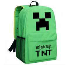 Minecraft TNT Logo schoolbag backpack new edition Minecraft Backpack, Video  Game Shop, Minecraft Video 0c7055588f