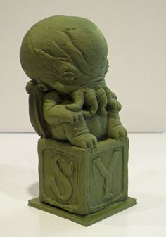 Little Ancient One by TKMillerSculpt.deviantart.com on @deviantART
