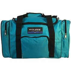 Sport Duffel Bag Fitness Gym Bag Luggage Travel Bag Sports Equipment Gear Bag Blue * Click on the image for additional details.
