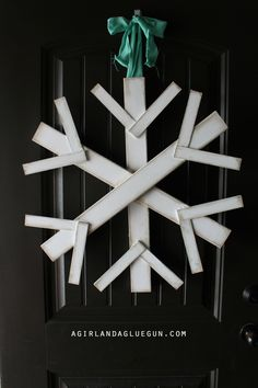 (This was supposed to post LAST monday! ) January is limbo month for my front door! I have a seasonal wreath for my front door for every month…but January. So I fixed it! With scrap wood!!! This cute snowflake costs less than $4 to make! and it's pretty dang big! The piece of wood was […]