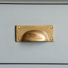 Able 16 Small Knobs Pulls Handles Solid Aged Brass Door Old Style Drops Kitchen 29mm Refreshment Architectural & Garden
