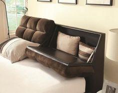 Tête de lit avec rangement en 30 idées trendy pour la chambre à coucher