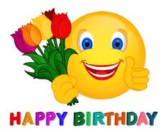 Happy Birthday Smiley Cards Images Quotes
