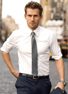 Roll up sleeves instead of wearing short-sleeved shirts.
