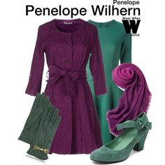 Inspired by Christina Ricci as Penelope Wilhern in 2006's Penelope.@Janelle