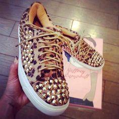 #sneakers #animalprint #shoes