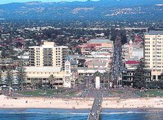Glenelg Beach, Adelaide.