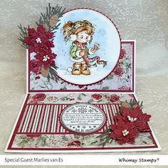 Scrapcards by Marlies Whimsy Stamps, Winter Cards, Fun At Work, Cute Images, Special Guest, I Card, Maya, Decorative Boxes, November