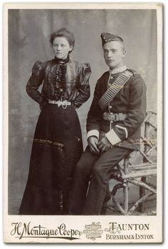 Soldiers of the Queen - Private South Wales Borderers with Female Relation