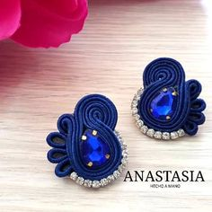 Earrings, Jewelry, Fashion, Soutache Jewelry, Ear Studs, Ear Rings, Hand Made, Ganchillo, Accessories
