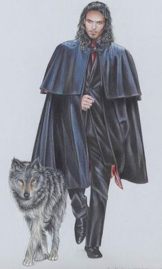 A beautiful representation of a young Count Dracula