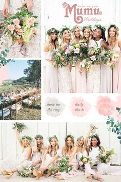 Planning your dream wedding? Shop for bridesmaid styles you & your girls will love. Browse our selection of bohemian bridesmaid dresses today! Mumu Wedding, Boho Wedding, Dream Wedding, Wedding Day, Wedding Stuff, Cocktail Bridesmaid Dresses, Beautiful Bridesmaid Dresses, Bridesmaid Bouquet, Bohemian Bridesmaid